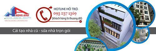 cải tạo nhà trọn gói Hùng Anh