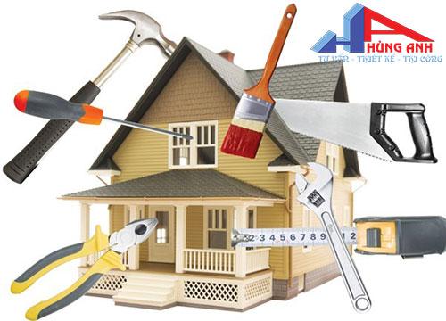 Dịch vụ sửa chữa nhà trọn gói uy tín giá rẻ