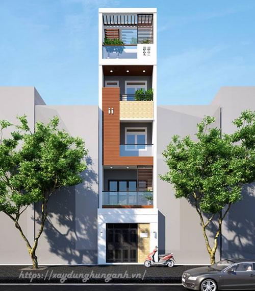 thiết kế xây nhà ở trọn gói