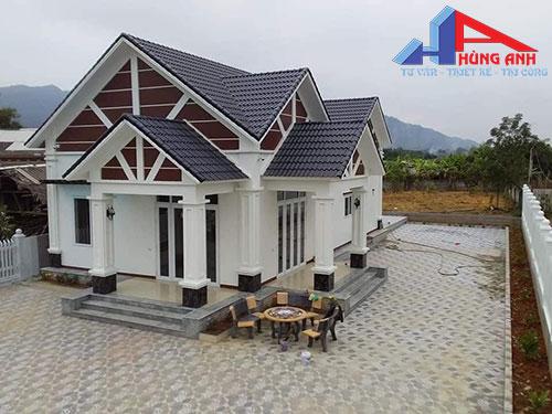 xây nhà cấp 4 trọn gói giá rẻ tại Hà Nội
