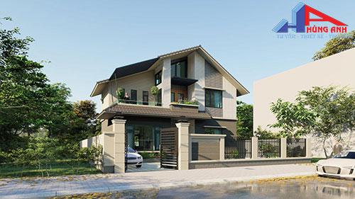 Báo giá xây nhà 2 tầng trọn gói 2021