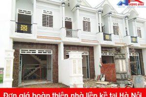 Đơn vị cung cấp dịch vụ hoàn thiện nhà liền kề tại Hà Nội uy tín, chuyên nghiệp