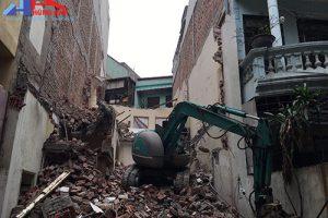 Dịch vụ phá dỡ nhà cũ tại Hà Nội – Hùng Anh