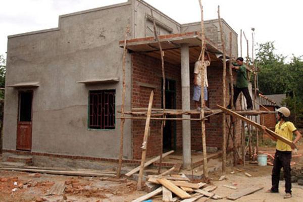 Cách tính chi phí xây nhà cấp 4 khoảng 80 triệu