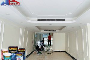 Tìm hiểu dịch vụ sơn nhà trọn gói uy tín – giá rẻ tại Hà Nội