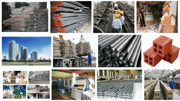 khảo sát vật liệu xây dựng