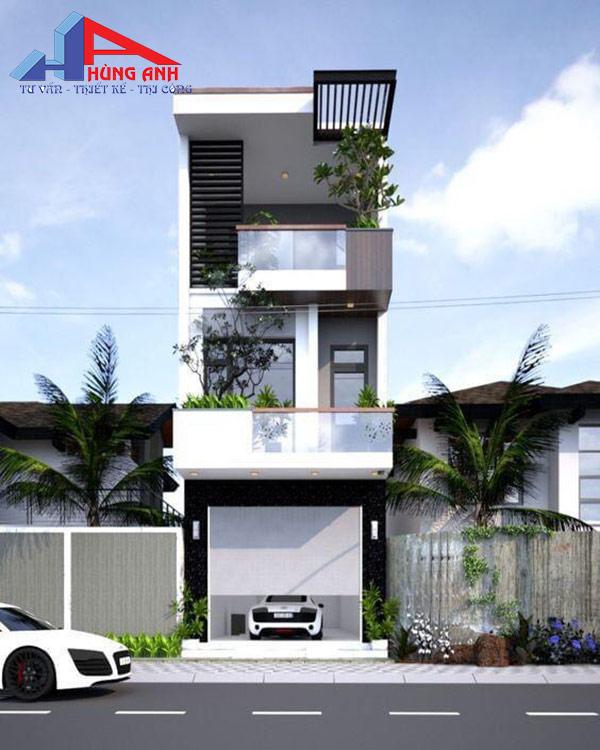 Nhà 30m2 xây 3 tầng