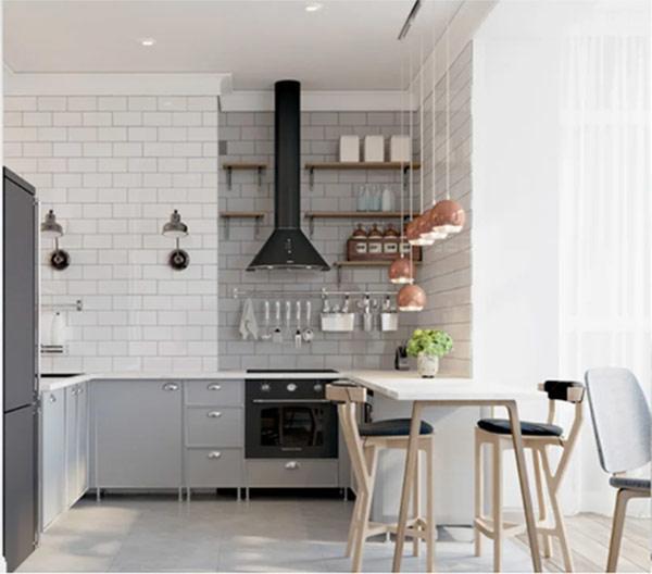 Nhà bếp đơn giản
