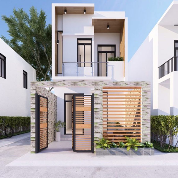 Chi phí xây nhà 2 tầng 50m2