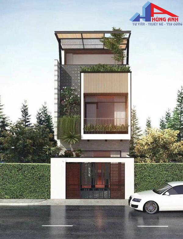 thiết kế nhà 30m2
