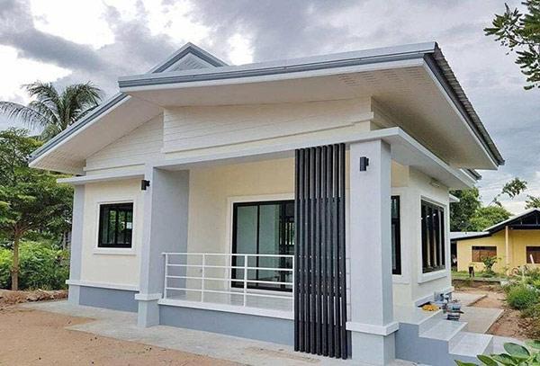 xây nhà cấp 4 giá rẻ ở nông thôn