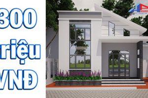 Tìm hiểu dịch vụ xây nhà trọn gói 300 triệu tại Hùng Anh