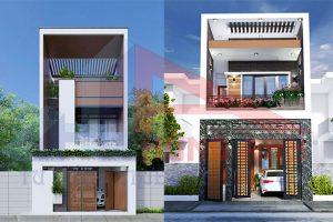 Chiêm ngưỡng các mẫu xây nhà 2 tầng 5×20 trọn gói 2021 siêu hot