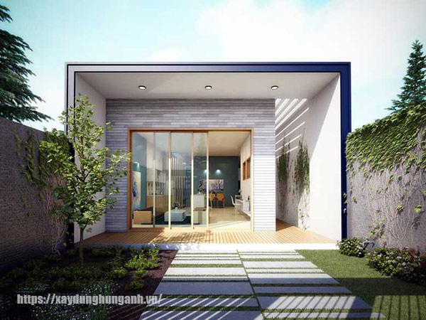 xây nhà cấp 4 mái bằng giá rẻ