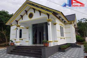 Tổng hợp Mẫu nhà cấp 4 mái thái đẹp nhất Việt Nam 2018 – 2021
