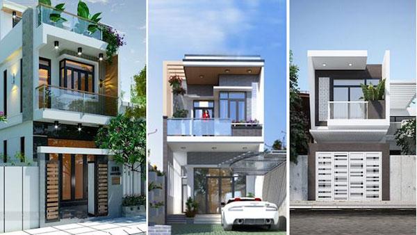 chi phí Các mẫu nhà 2 tầng 5x15m