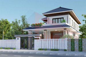 Các mẫu nhà 2 tầng kiểu Nhật đẹp như mơ tại Hùng Anh