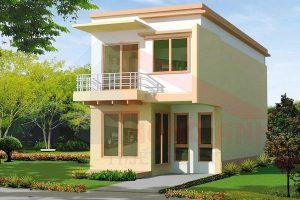 Tìm hiểu về thiết kế nhà 2 tầng mái bằng đơn giản giá rẻ