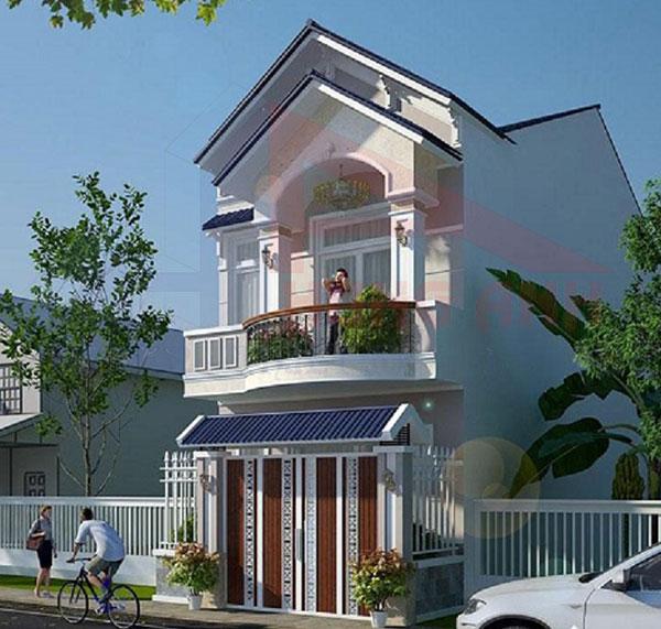 Nhà 2 tầng mái thái 5x15