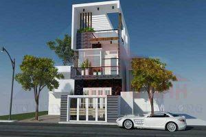 Tham khảo 7 mẫu thiết kế nhà 2 tầng 6×15 hiện đại tiện nghi