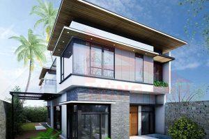 Tiêu chuẩn thiết kế các nhà 2 tầng hiện đại đơn giản