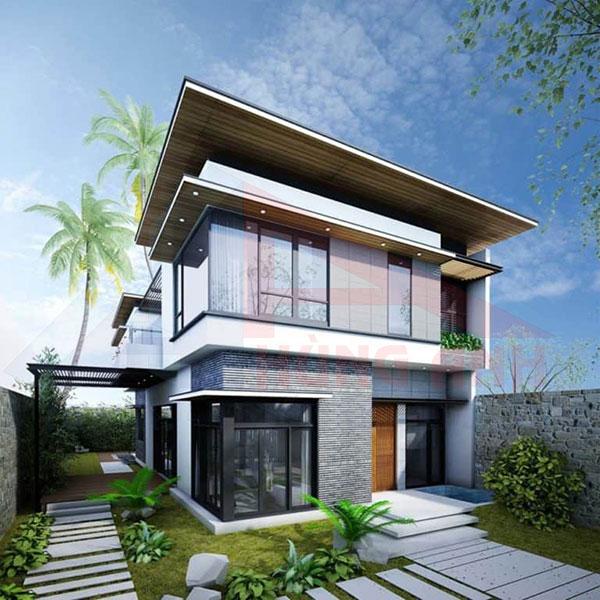 Tiêu chuẩn thiết kế nhà 2 tầng hiện đại đơn giản