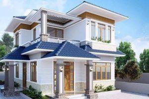 Các mẫu thiết kế mẫu nhà 2 tầng mái lệch hiện đại đẹp nhất Việt Nam