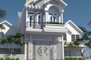 16 mẫu thiết kế nhà 2 tầng mái thái 500 triệu siêu đẹp tại Hùng Anh